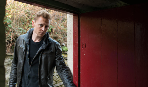 No awkward silence behind this open door. Tom Hiddleston is Jonathan Pine in The Night Manager