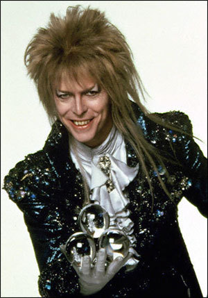 David Bowie as Jareth