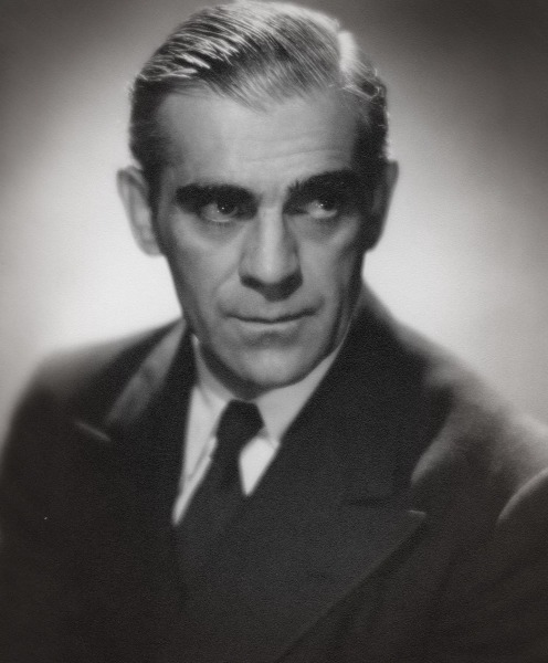The often imitated, never duplicated, Boris Karloff