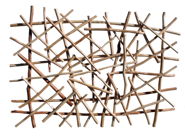 natural stick wall art zen vibe reclaimed wood