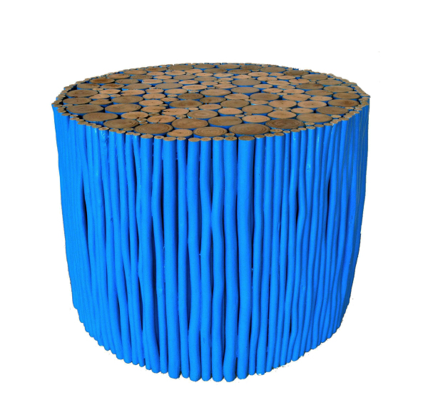 maiyalap blue stick coffee table