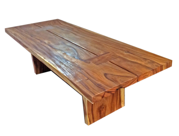 tacacia double slab dining table