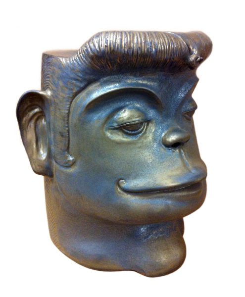 monkey face ceramic stool