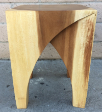 Chiang Mai end table or stool made with tropical acacia wood