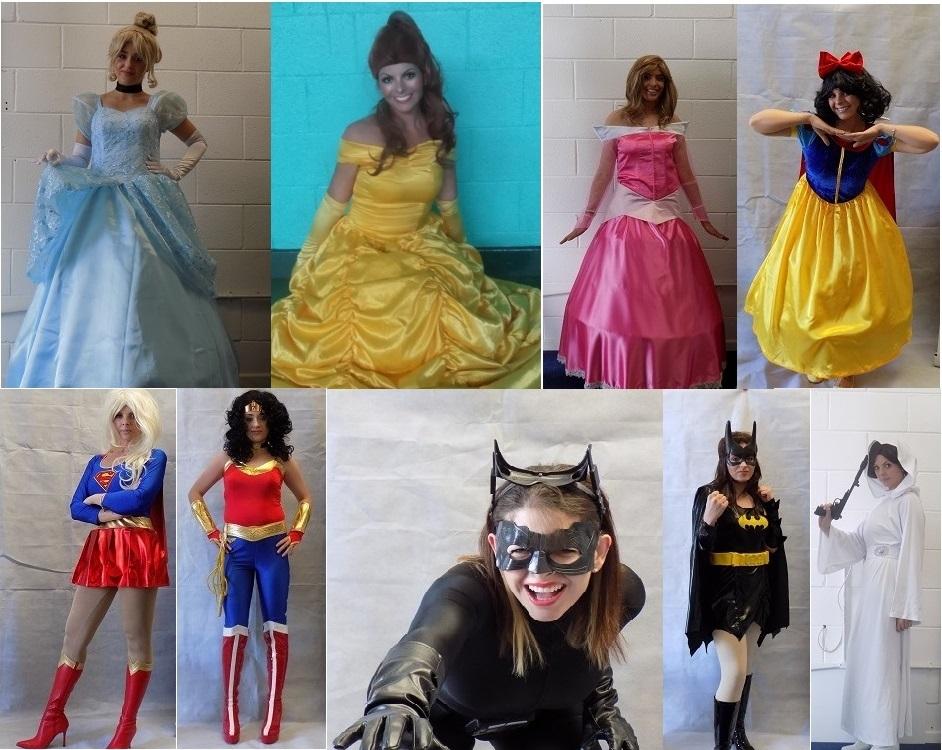RTS Princesses and Superhero Girls