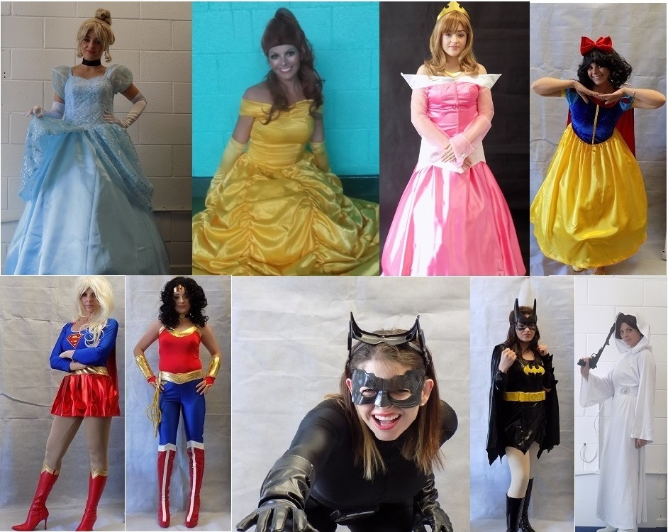 RTS Princesses and Superhero Girls