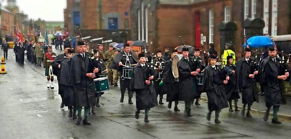 Remembrance Day Parade 2015