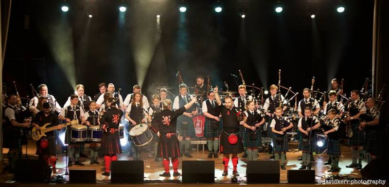 Gigging with the Red Hot Chilli Pipers