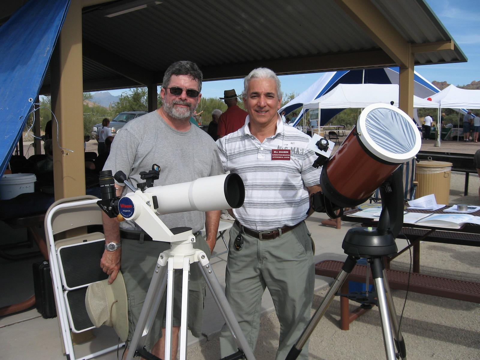 Bill Rudie (on left)