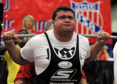 804.5lb Raw Squat (365 Kilos)