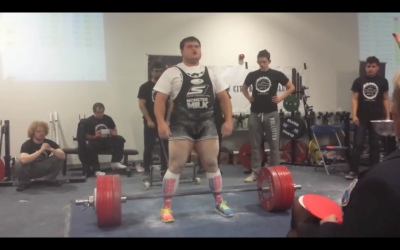 744lb Deadlift (337.5 Kilos)