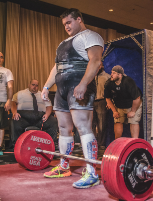 722lb (327.5 Kilos) Deadlift