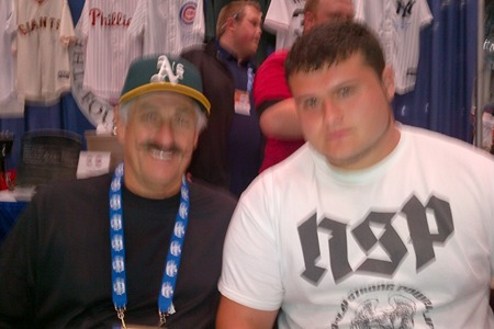 Me & Hall of Fame Baseball Player Rollie Fingers