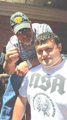Me and Wrestling Legend Bill Goldberg