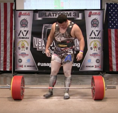782lb Deadlift Attempt