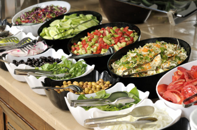 Buffet Meals, Wedding options, Canape's and more...