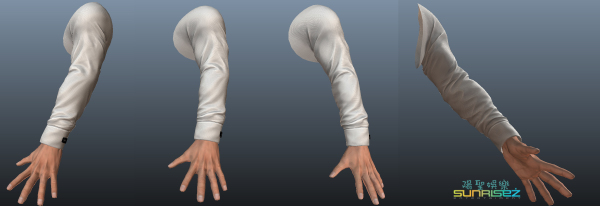 Male Hand for Casino Game