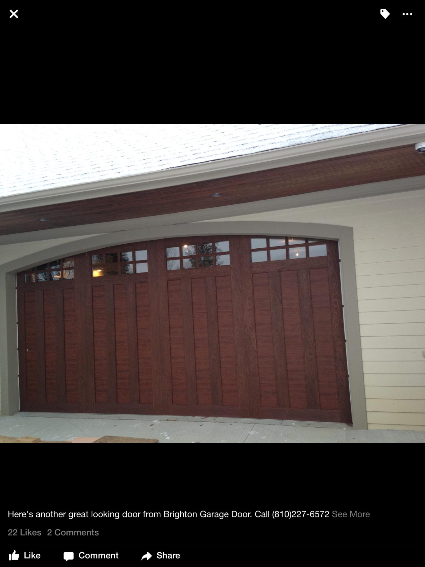 Steel Insulated doors that look like Wood