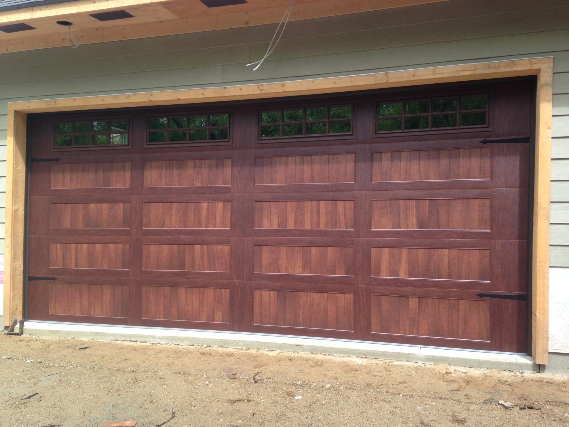 another steel door that looks like wood