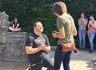 """""""Will You Marry Me?"""" (Tuesday in Salzburg)"""