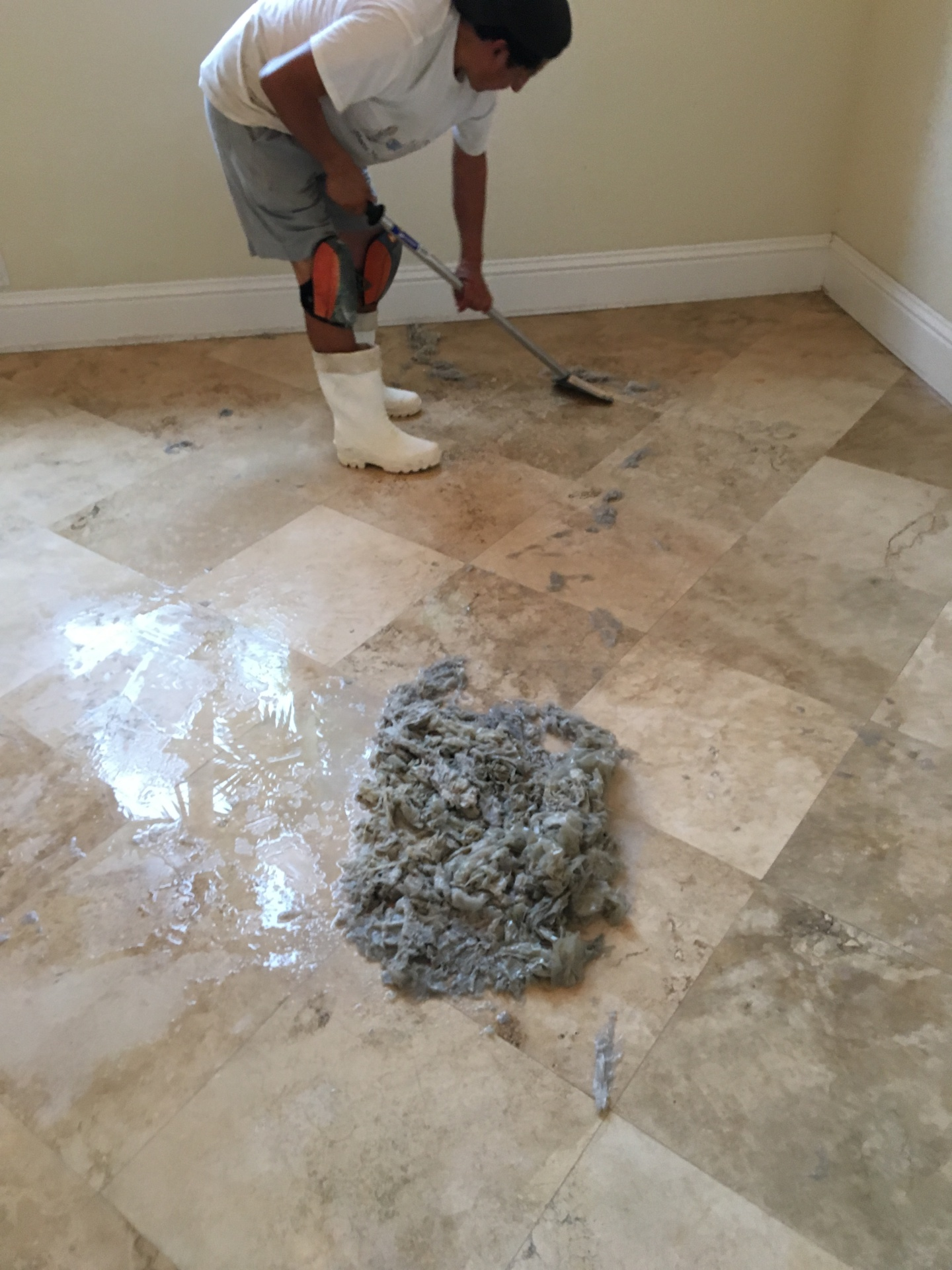 going green travertine restoration