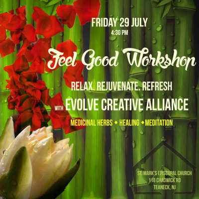 This is a Flyer for the Evolve Creative Alliance Theatre Workshop