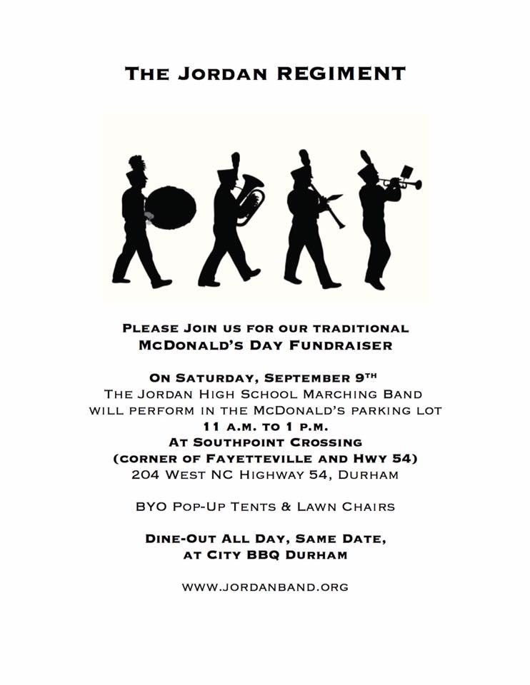 City BBQ Dine Out Flyer