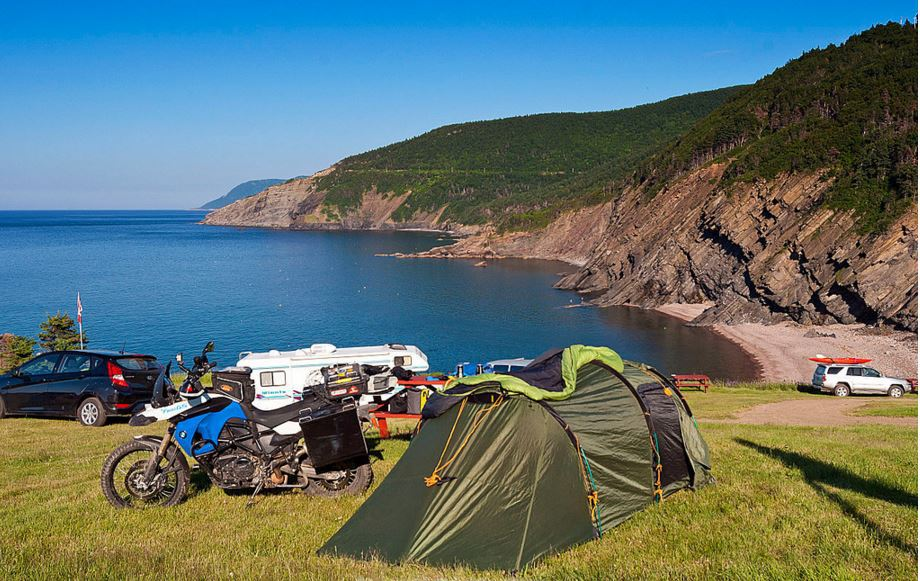Idyllic Camping sites