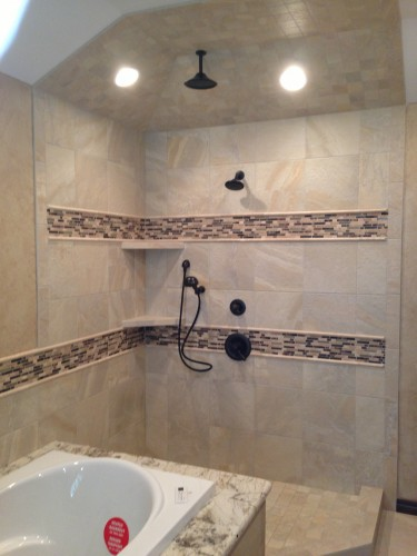 Dalton Construction Custom Shower