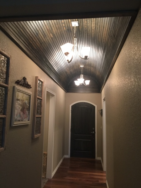 Dalton Construction Barrel Ceiling
