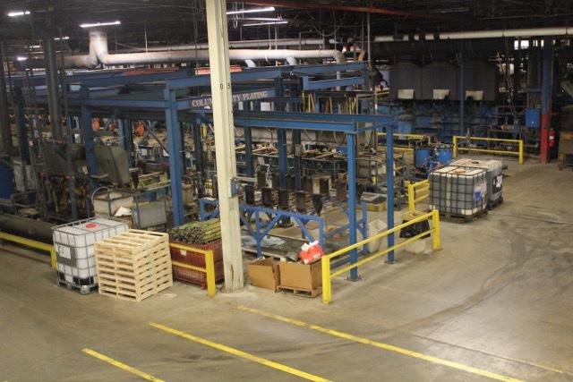 HuthOne - Zinc Nickel Metal Plating Metal Finishing Barrel Rack
