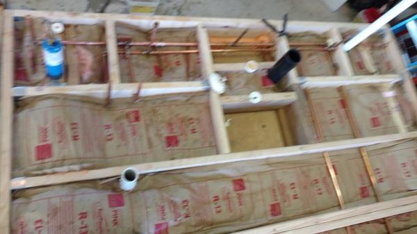 Sub floor insulation