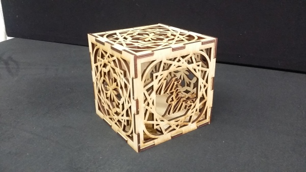 Laser Cut Light Box