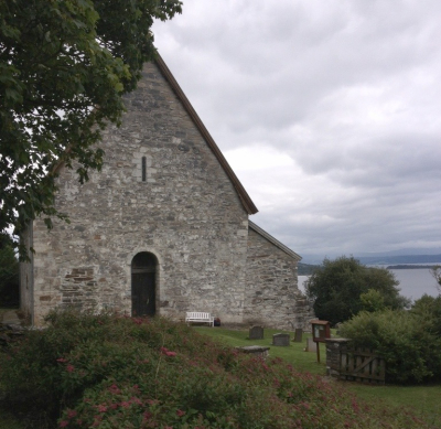 The 1150 AD Catholic Church in Norway.
