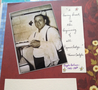 In the beginning…a story about a cookbook