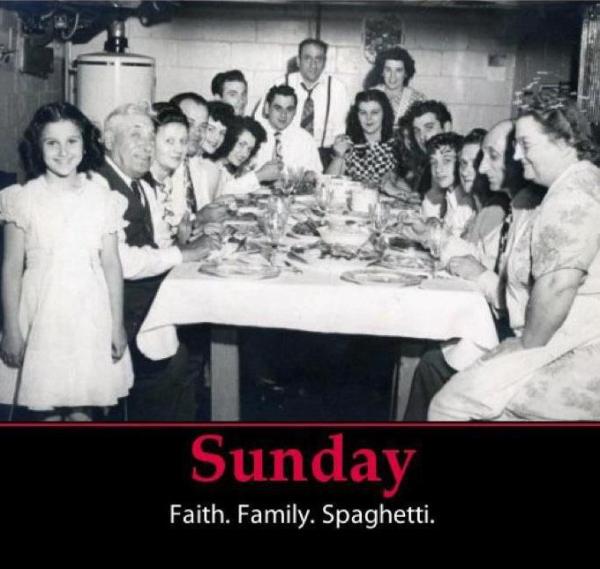 A Sunday kind of love…
