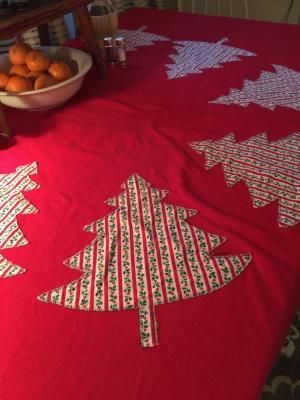 A Christmas Tablecloth