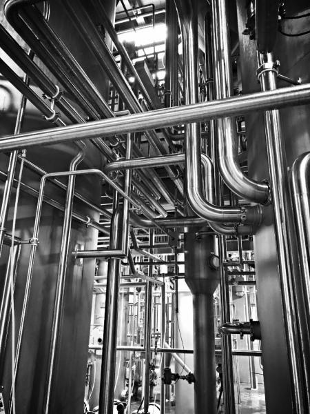 Sanitary Process Piping Installation