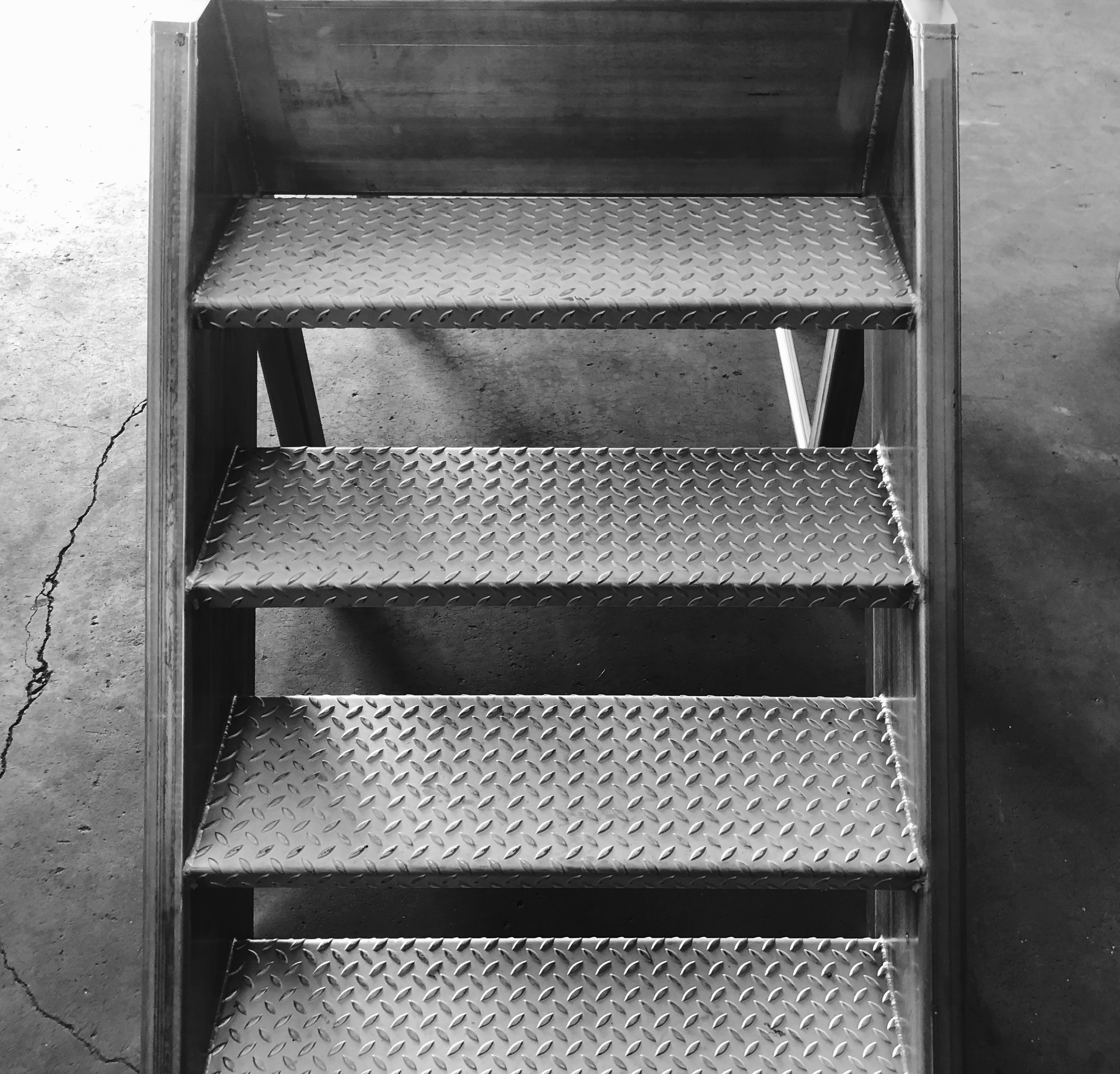 Production Room Access Platforms and Stairs