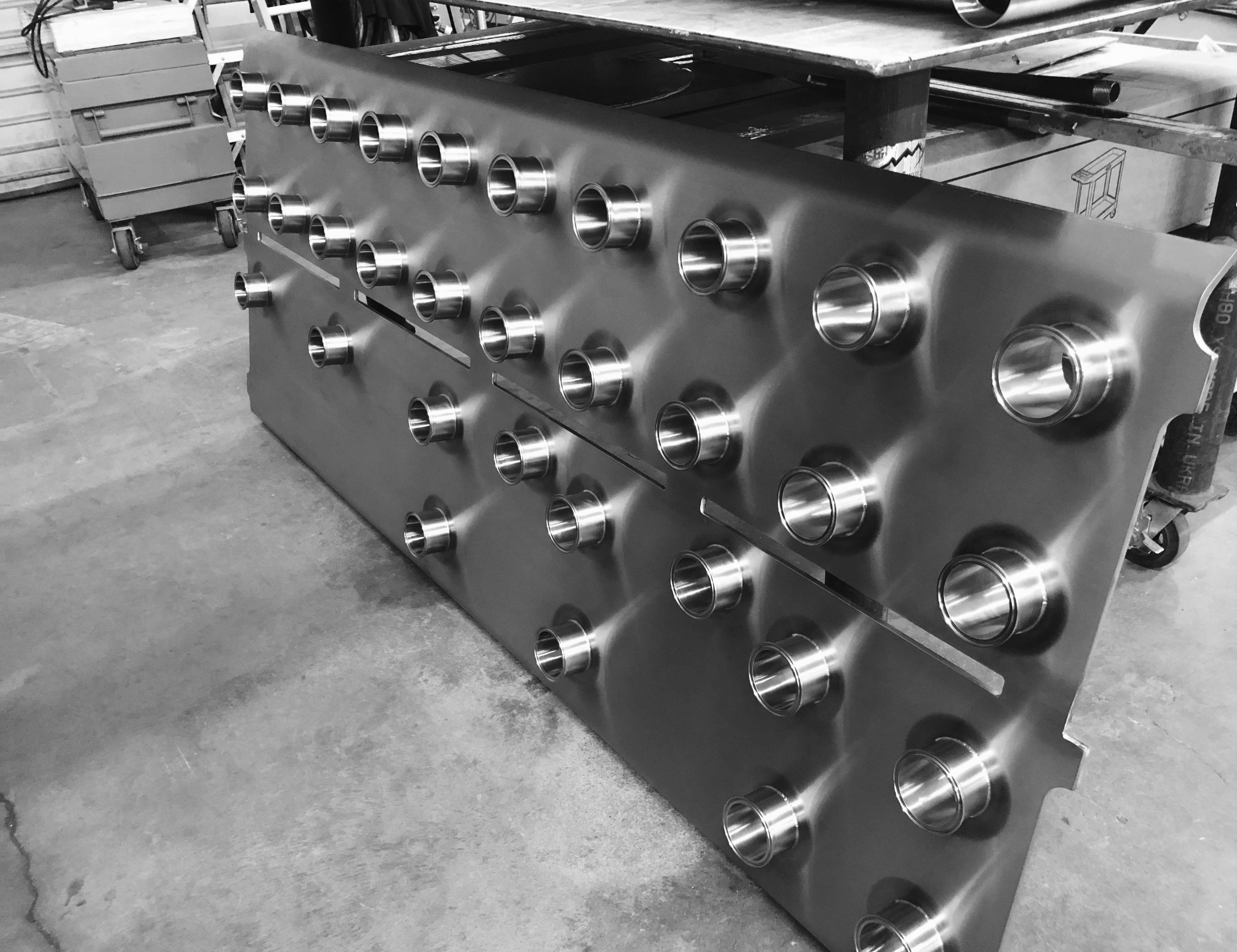 Custom Flow Panel Fabrication/Installation