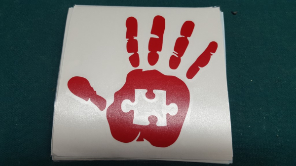 Wave Decal