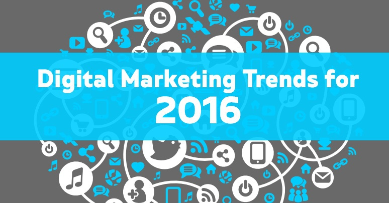 DIGITAL MARKETING TRENDS TO BE AWARE OF IN 2016