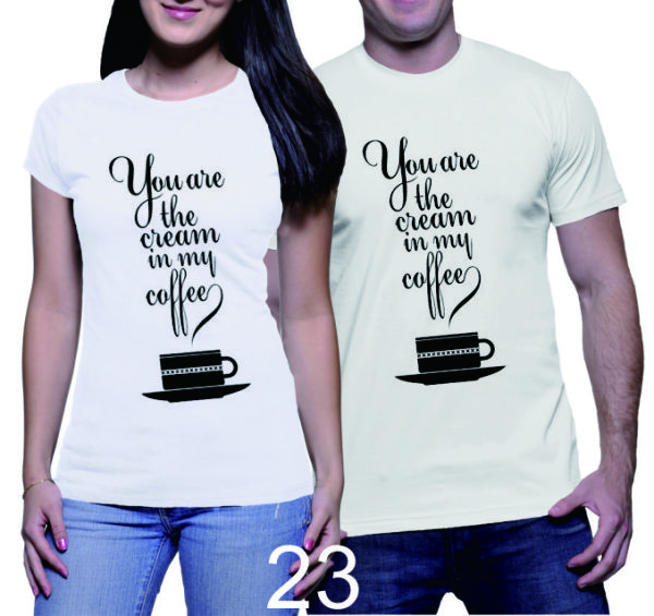 Kaos Couple My Cream