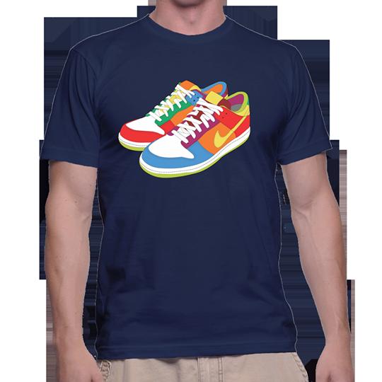 Kaos Desain Shoes