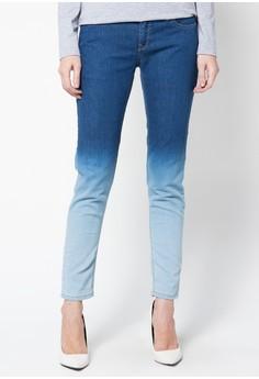 Cara membuat Celana Jeans Ombre