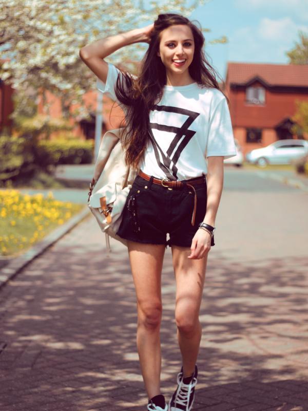 Tips Memadukan Tshirt Lama Agar Tidak Mati Gaya