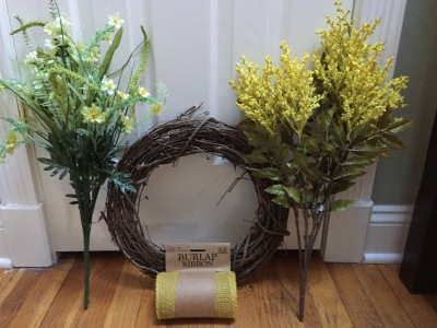 Easy Craft-Spring Wreath