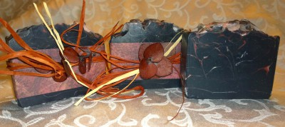 masculine fragrance, activated charcoal, natural soap, cold process soap, black soap,