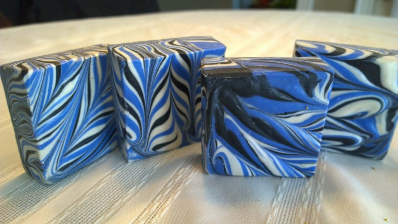 Modified Taiwan Swirl Cold Process soap