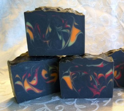 Dragon Fire Activated Charcoal Soap